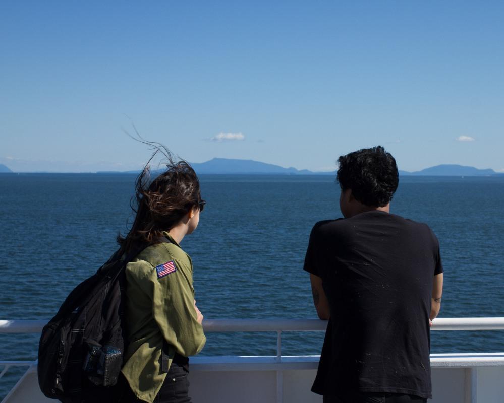 Vancouver to Victoria.