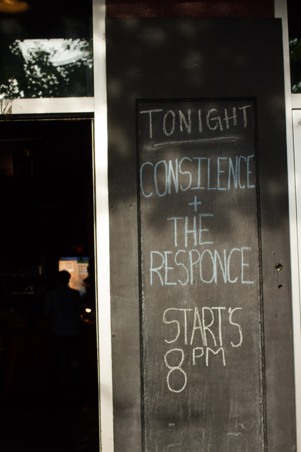 tonight - consilience